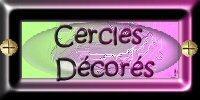 Cercles décorés